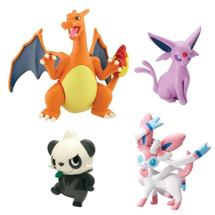 Ultrajeux figurines pokemon x et y dracaufeu nymphali - Pokemon dracaufeu x ...