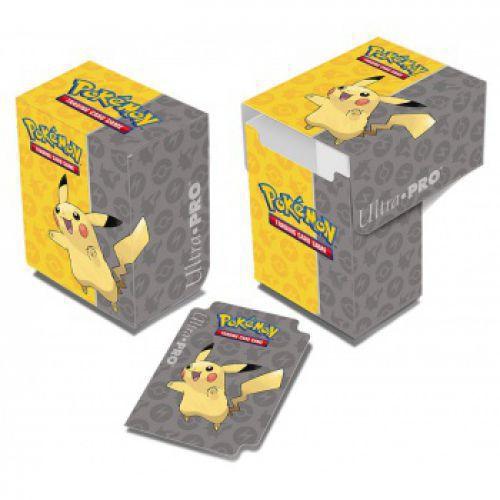 ultrajeux boite de rangement deck box pikachu pok mon. Black Bedroom Furniture Sets. Home Design Ideas