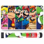 Produits D�riv�s Accessoires Tapis De Jeu - Super Mario - Mario Et Ses Amis Accompagn�s D'un Tube De Protection