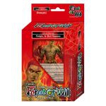 Starters Fran�ais Force of Will Deck De D�marrage Melgis, Le Roi Flamme