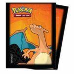 Protèges Cartes Pokémon Deck Protector Ultra Pro - Dracaufeu Par 65