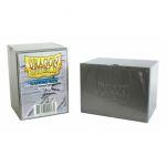 Boites de Rangement Accessoires Deck Box Dragon Shield Rigide Silver (argent�) - 100 Cartes