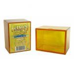 Boites de Rangement Accessoires Deck Box Dragon Shield Rigide Jaune - 100 Cartes