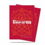 Protèges Cartes Standard Force of Will par 65 - Card Back - Red