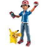 Figurine Pokémon Figurines D'action Sacha + Pikachu