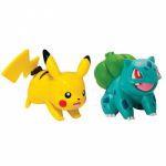 Figurine Pokémon Pikachu & Bulbizarre