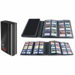 Portfolios  Pro Binder 4 Playset 480 Cartes - Noir