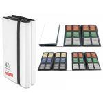 Portfolios  Pro Binder 4 Playset 480 Cartes - Blanc