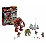Super Heroes LEGO 76031 - Le Combat Du Hulk Buster