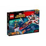 Super Heroes LEGO 76049 - La Mission Spatiale Dans L'avenjet