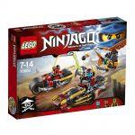 Ninjago LEGO 70600 - La Poursuite En Moto Des Ninja