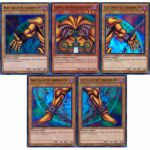 Lots de Produits Yu-Gi-Oh! Lot Exodia The Forbidden One ! Exodia L'interdit [en Anglais]