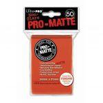 Protèges Cartes Accessoires Sleeves Ultra-pro Standard Par 50 Pèche Matte