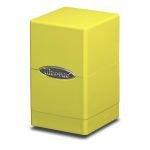 Deck Box  Satin Tower Deck Box Jaune Fluo