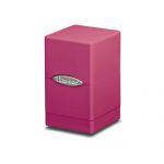 Boites de Rangement Accessoires Satin Tower Deck Box Rose Bonbon