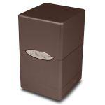Boites de Rangement Accessoires Satin Tower Deck Box Chocolat
