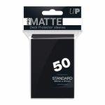 Protèges Cartes Accessoires Sleeves Ultra-pro Standard Par 50 Noir Matte