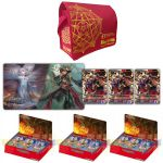 Boosters Fran�ais Force of Will La Bataille D'attoractia - Lot De 3 Boite De 36 Boosters + Le Tapis