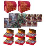 Boosters Fran�ais Force of Will La Bataille D'attoractia - Lot De 6 Boite De 36 Boosters + 2 Tapis