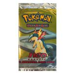Boosters Anglais Pok�mon Neo Genesis Edition 1 - Typhlosion