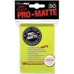 Protèges Cartes Accessoires Sleeves Ultra-pro Standard Par 50 Vert Pistache Matte
