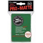 Protèges Cartes Accessoires Sleeves Ultra-pro Standard Par 50 Vert Foncé Matte