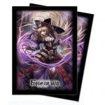 Prot�ges Cartes Force of Will Sleeves Standard Par 65 Sombre Faria, Ombre Princesse D'eb�ne