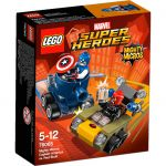 Super Heroes LEGO Mighty Micros - 76065 - Captain America Contre Crâne Rouge