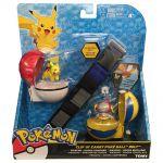 Figurine Pok�mon Clip'n Carry Ceinture De Dresseur Pok�mon - Pikachu Et Poke Ball + Hoopa Encha�n� Et Rapide Ball