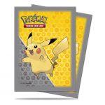 Prot�ges Cartes Pok�mon Deck Protector Ultra Pro - Dp Pikachu Jaune/gris Par 65