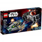 Star Wars LEGO 75150 - Le Tie Advanced De Dark Vador Contre L'a-wing Starfighter