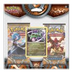Boosters Fran�ais Pok�mon Pack 2 Boosters - Xy 11 Offensive Vapeur - Rayquaza