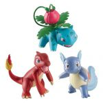 Figurine Pok�mon Pok�mon - Pack 3 Figurines Evolutions - Reptincel, Carabaffe et Herbizarre