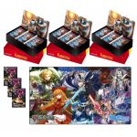Boosters Fran�ais Force of Will La Mal�diction Du Cercueil De Glace - Lot De 3 Boite De 36 Boosters + Le Tapis