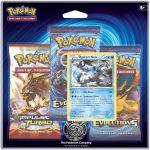 Pokémon Pack 3 Boosters - Xy - Evolutions : Kyurem Noir
