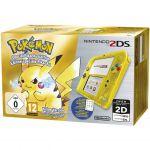 Produits Spéciaux Pokémon Nintendo 2ds Jaune Transparent + Pokémon Jaune Préinstallé