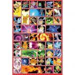 Accessoires Pokémon Pokémon Poster Pokemon Et Leurs Attaques !