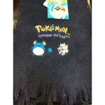 Produits Spéciaux Pokémon Echarpe Pokemon Bleu Foncé
