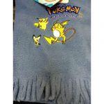 Produits Spéciaux Pokémon Echarpe Pokemon Bleu Clair