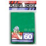 Protèges Cartes Format JAP Accessoires Player's Choice Yu-gi-oh! Vert