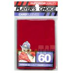 Protèges Cartes Format JAP  Player's Choice Yu-gi-oh! Rouge