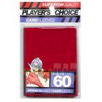 Protèges Cartes Format JAP Accessoires Player's Choice Yu-gi-oh! Rouge