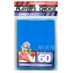 Protèges Cartes Format JAP Accessoires Player's Choice Yu-gi-oh! Bleu Metal