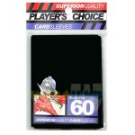Protèges Cartes Format JAP  Player's Choice Yu-gi-oh! Black/Noir