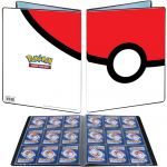 Portfolios Pokémon Pokéball  - 90 Cases - 10 Pages De 9 Cases
