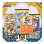 Boosters Français Pokémon Pack 3 Boosters - Soleil Et Lune - Flamiaou