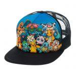 Produits Spéciaux Pokémon Casquette Baseball Trucker Characters (multi-pokémon Sur Fond Bleu)