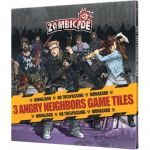 Coopératif Aventure Zombicide Angry Neighbors : Set De Dalles