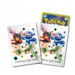 Protèges Cartes Pokémon Sleeves Pokemon Center - Alola Starters Par 64