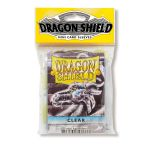 Protèges Cartes Format JAP  Sleeves Dragon Shield Mini Par 50 Transparent (Lisse)